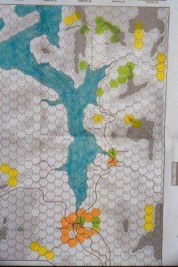 orange concentration - Hagaru-ri, lower tip of reservoir