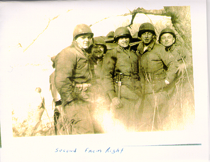 l-r, Donald Lindgren(NY), Burk(KY), Robert Stafford, James T. Mainhart(KIA Chosin), Haskel